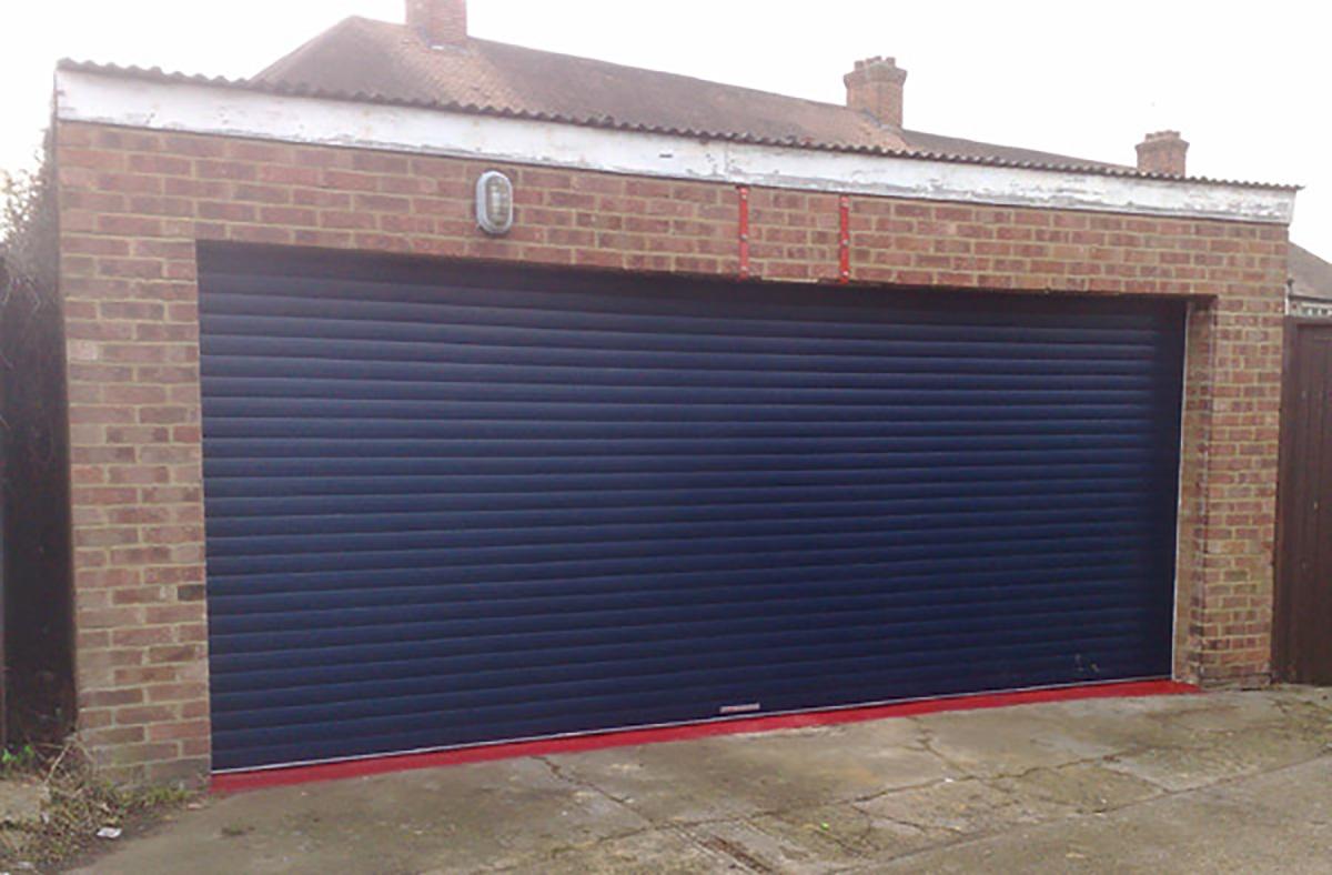 Large-blue-double-garage-door