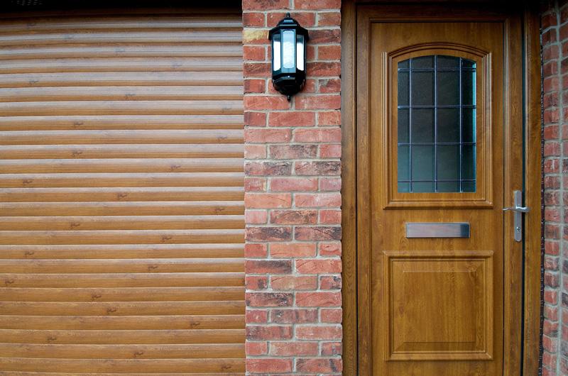 oak-garage-and-front-door